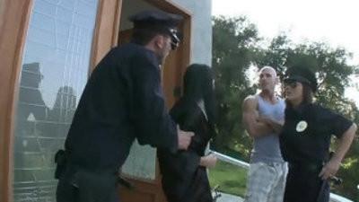 Rebeca linares resisting anal arrest pt
