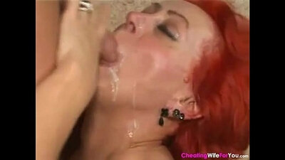 Appealing young brunette craves for cock and gets her wet pussy eaten