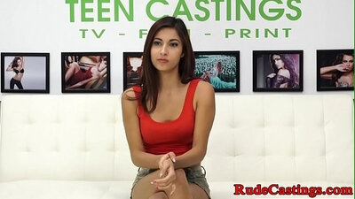 Real casting amateur fucks married man in the basement