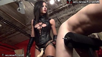femasculine dom strapon pegging from Mistress Tangent