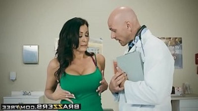 Doctor Adventures My Husband Is equipmentht Outside... scene starring Reagan Foxx and Johnny