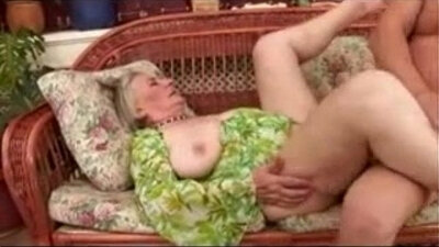 Jesse Gets Fucked From Inside Granny Jerk