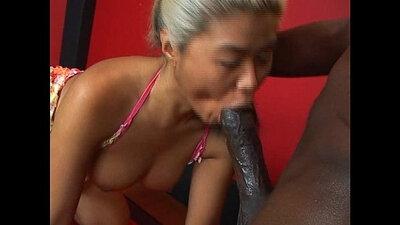 Asian Mature BF Black Cock