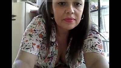Masturbating full clothed MILF punishing