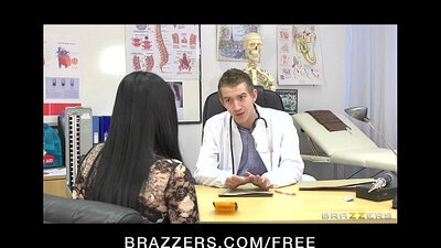 Busty Beauty Gets An Anal Ride While Nurse Plays With Her Dick
