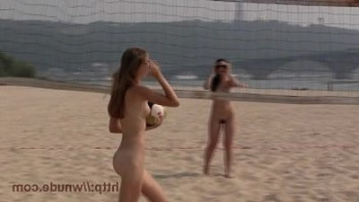 More beach naturist video it is a non nude beach.