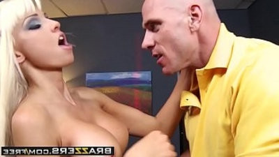 Smoking manfuckhogam Tits Blone Rikki Six Gets her ass pounded on the job