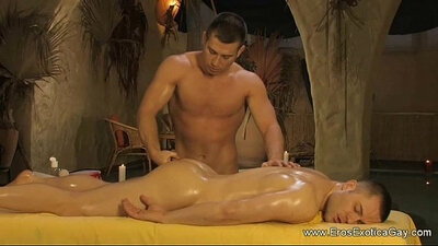 Ms Nelly gay anal being massaged