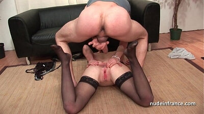 Brunette sluts double penetrated