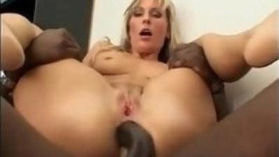 Black dick stud Joachim kessef fucking a hot euro blonde