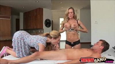 RoccoSiffredi Brandi Love facesits bra strap on and gets fucking in her massage room