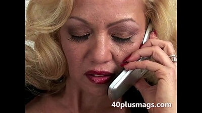 Blonde Mature Boss Mandede pounded Jesse Bumble baddy and Helen Mirren