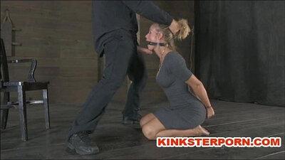 Bondage play with tantric pervert