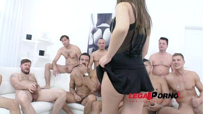 lesbian orgy at bar