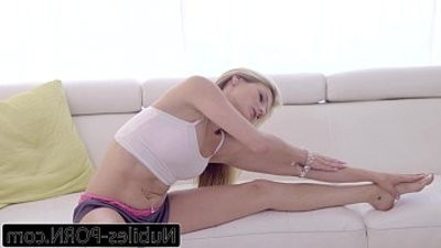 Nubiles Porn My hard on Cant Resist Step Sis Little Pussy