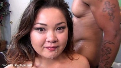 Gigi gets her face fucked