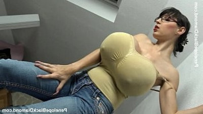 Penelope Black Diamond Milking Tits Boobs Preview