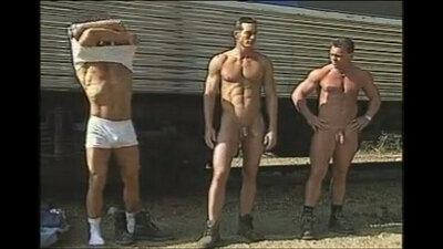 Naked boots police show Sean is frisky