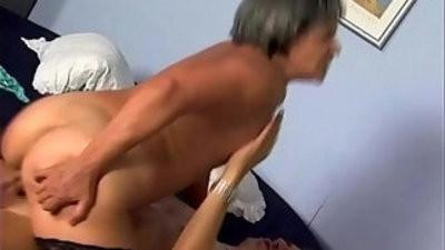 Vast hairy granny fucked