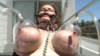 buxomy junes hubby abases her