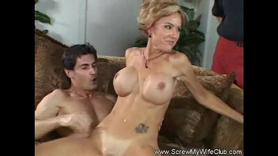 Angelica Throated and Fondled by Her Hung cuckold Husband