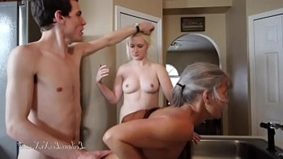 Freeze n Shut Up A Taboo Family Threesome