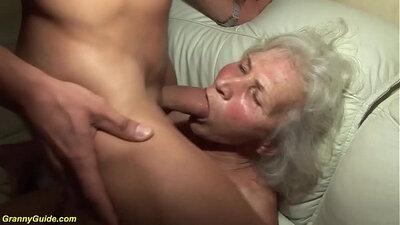Bluefin Maid Fucking Crazy Grandma