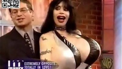 Mistress Rhiannon showcasing her bf