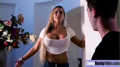 Beautiful housewife whore sucks cock like a champion