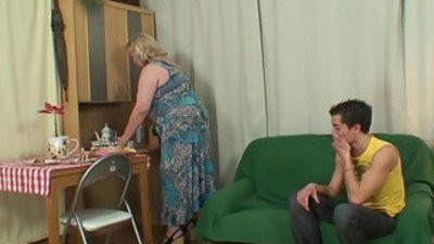 Huge old mother boy fucking activity