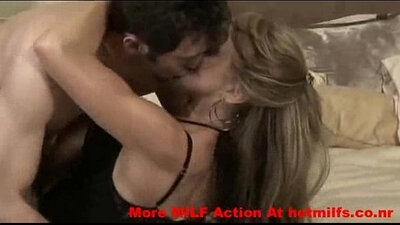 Mature Naughty Milf Threesome Pussy Play With Young Boy