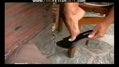 Sexy heels fetish black dick