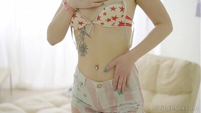 Cute virgin hot naked live show