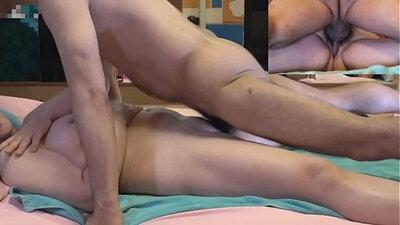 Eating orgasms of Black mature