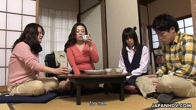 Asian slut Ruka Oshiki getting pussy fingered
