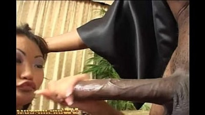 nut fucking interracial sex for little asian school girl and big black dick