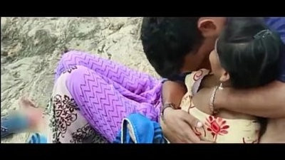 Desi indian Girl With EX tweak in Outdoor Hot Telugu Romantic brief Film 2017