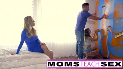 Hot teen gets punished instead of mom