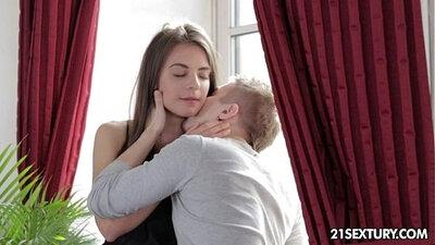 Teen first anal bang Scene
