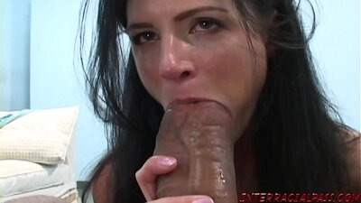 India Summer Fucks Huge Black Cock And Gets Facial