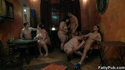 amateur chubby spreads legs for cock