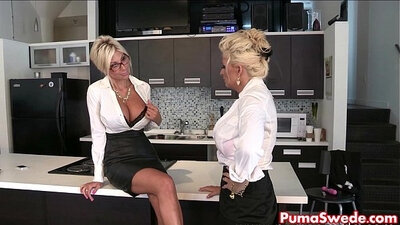 I am a slutty lesbian toying my raw nappies in the office