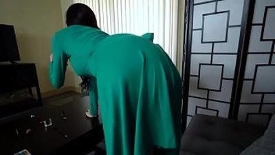 Depressed mom gets nudebacked by stepson