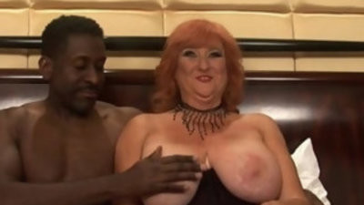 Amateur mom big hooter crimsonhead milf sucking fucking black girl with huge mamba cock stud and mature big tits pornography flick