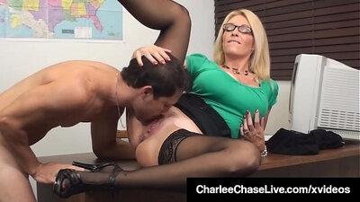 Cool pink pussy teacher tasting her student Professor Dearest