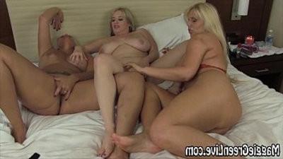Maggie Green in Sexy Foot Fetish with Karen Carey!