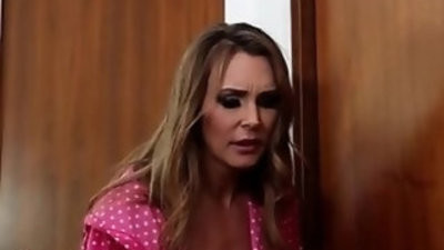 British ash blondee milf slut Tanya in NOT a lesbian taboo threesome