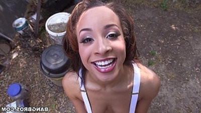 Teanna Trump Gives Head