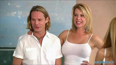 Allie Jordan and SkeeJay Swinger party Hitachi Fuck
