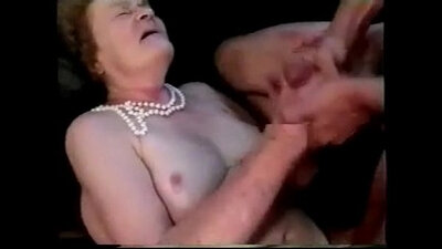 Grandma assfucked by mature man